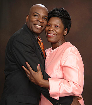 Pastor Yves Montinard and Marie Noel Montinard